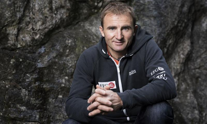 'Speed is nothing new': Ueli Steck in Wilderswil, Switzerland, 2015.