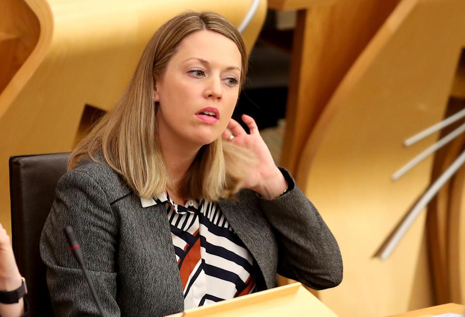 Scottish Government Europe minister Jenny Gilruth raised concerns in her letter (Jane Barlow/PA)
