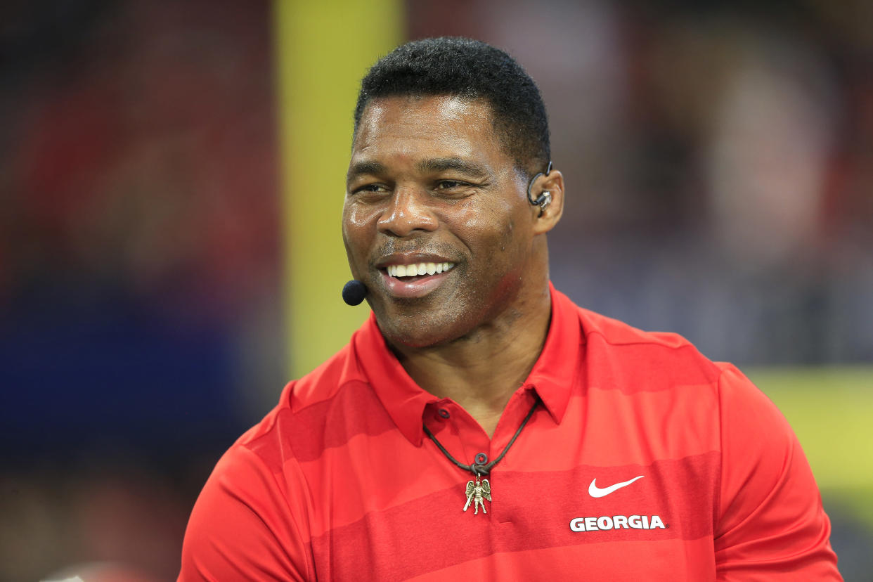 Herschel Walker, a legend in the state of Georgia, will run for Senate in the state.  (David John Griffin/Icon Sportswire via Getty Images)