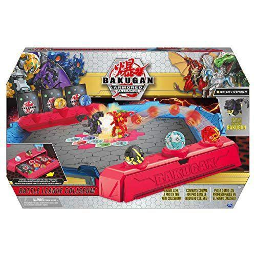 "<p><strong>Bakugan</strong></p><p>amazon.com</p><p><strong>$39.99</strong></p><p><a href=""https://www.amazon.com/dp/B0848LL7GF?tag=syn-yahoo-20&ascsubtag=%5Bartid%7C10055.g.4745%5Bsrc%7Cyahoo-us"" rel=""nofollow noopener"" target=""_blank"" data-ylk=""slk:Shop Now"" class=""link rapid-noclick-resp"">Shop Now</a></p><p>The battle is on with this brand-new set that includes an exclusive Howlkor x Serpenteze Bakugan and two pull-out storage drawers for all his cards and BakuCores. <em>Ages 6+</em></p>"