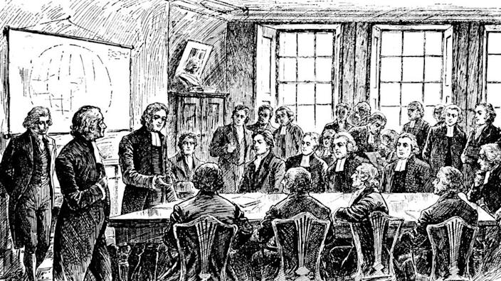 The Missionary Society was formed in London in 1799 by British anti-slavery campaigners