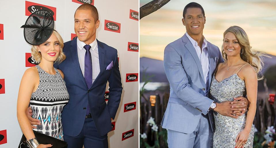 Blake Garvey was coined the 'most hated man in Australia' after proposing to Sam Frost on season two of The Bachelor, before dumping her for his third runner-up, Louise Pillidge. Photos: Getty Images and Channel 10