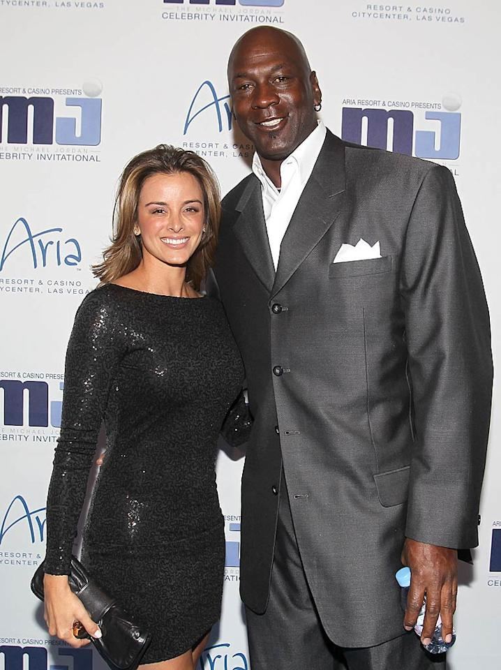 "<p>  </p><p><strong><span style=""font-weight:normal;"">After dating 32-year-old model Yvette Prieto for three years, NBA legend Michael Jordan, 48, popped the question</span> </strong>on Christmas Eve, and she happily said yes. Jordan's first marriage to wife Juanita ended in divorce (and one of the largest divorce payouts of all time, with Juanita reportedly getting $168 million) in 2006 after 17 years of marriage. Better luck this time!</p>  <p></p>"