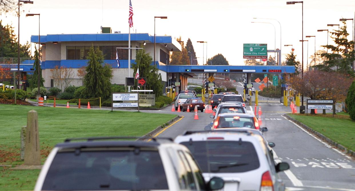 A teen was detained by ICE after accidentally entering the U.S. while jogging along the Canadian border. (Photo: Getty Images)