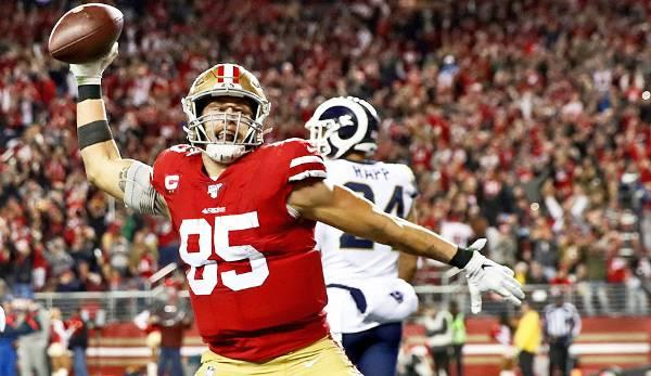 NFL: 49ers-Star George Kittle: The People's Tight End!