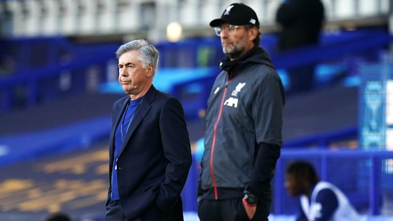 Being top for the Merseyside derby an honour, says Everton boss Carlo Ancelotti