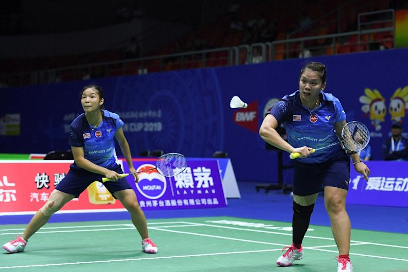 The pairing of Chow Mei Kuan and Lee Meng Yean won the final-rubber women's doubles for Malaysia