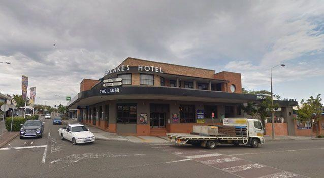 The incident occurred at The Lakes Hotel at the Entrance in NSW. Photo: Google Maps