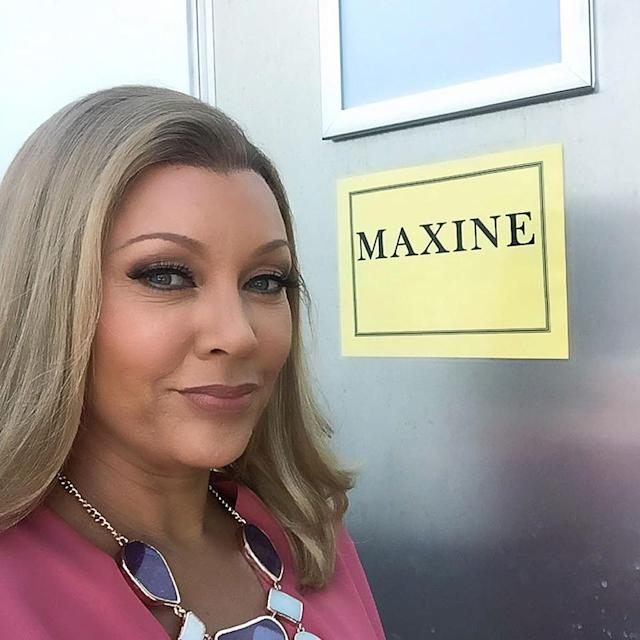 <p>Yours truly –– at my trailer on set with @VH1 #DaytimeDivas. #Maxine </p>