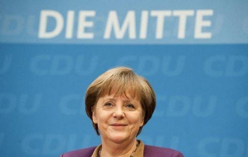 The two rescue funds could run in parallel until the 200 billion euros is paid back, Merkel said