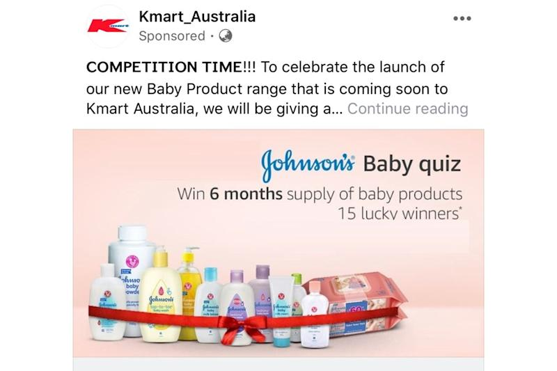 Kmart scam. Source: Practical Parenting