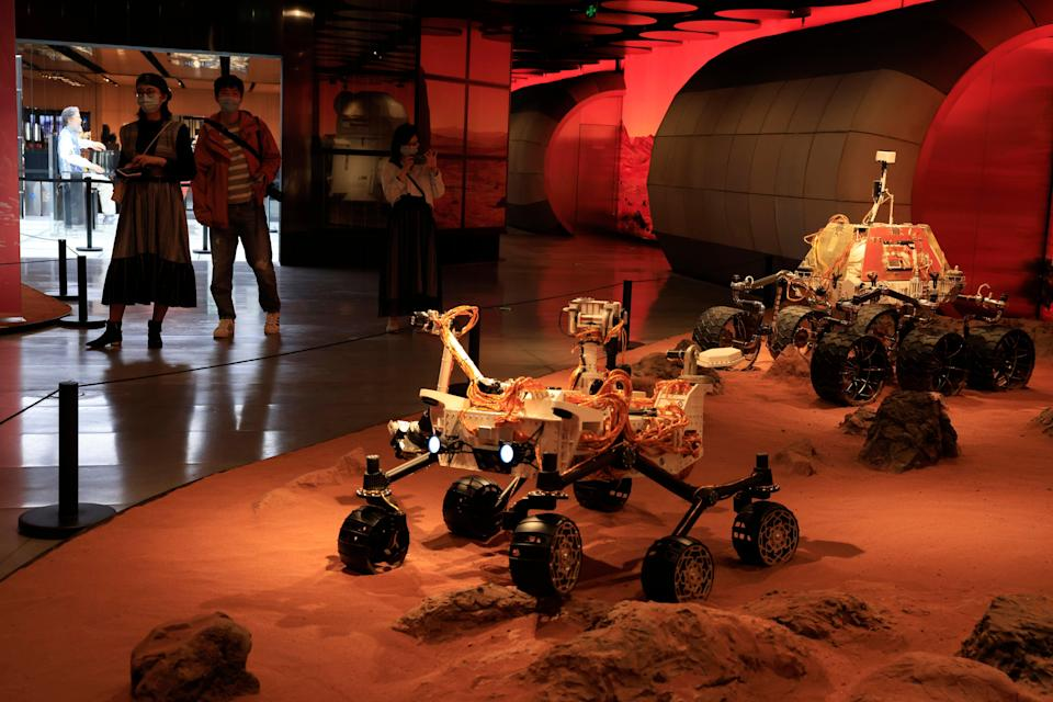 China Space Mars Mission (Copyright 2021 The Associated Press. All rights reserved.)