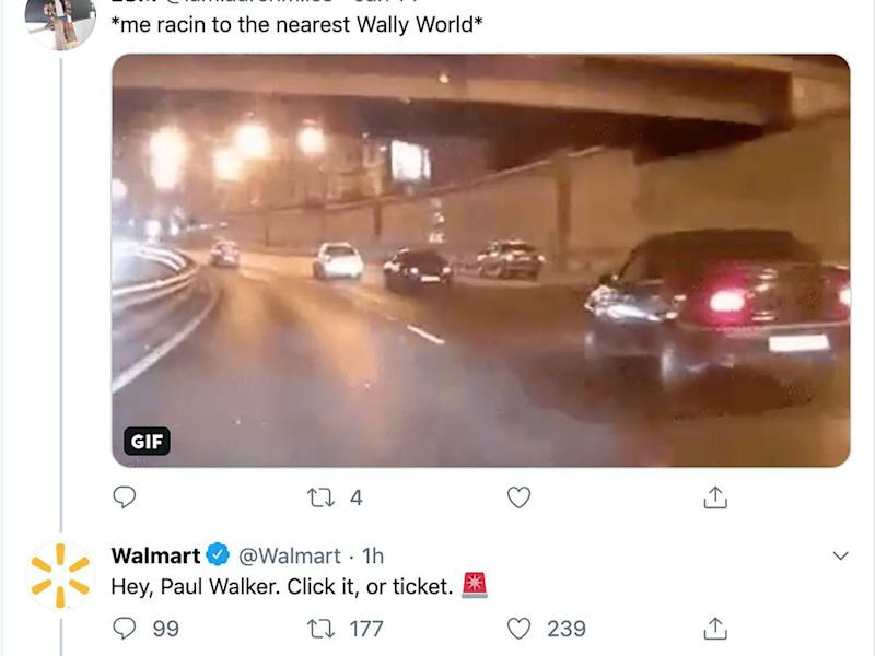 'In poor judgement': Walmart reportedly apologizes for tweeting Paul Walker joke