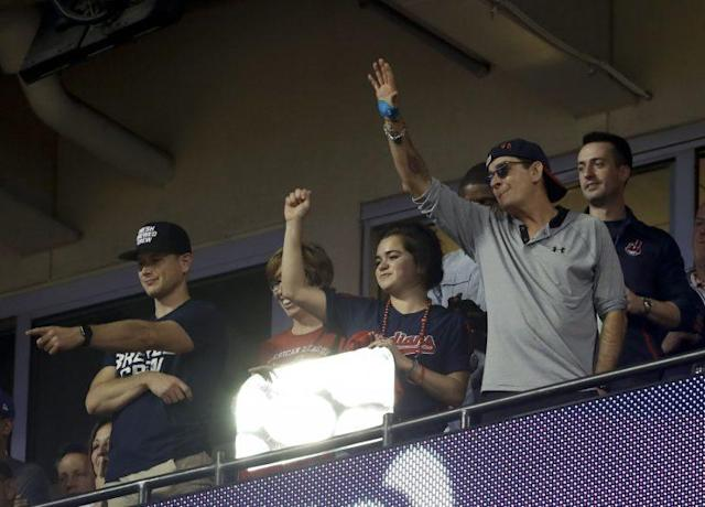 """Charlie Sheen is ready to make """"Major League 3."""" (AP Photo)"""