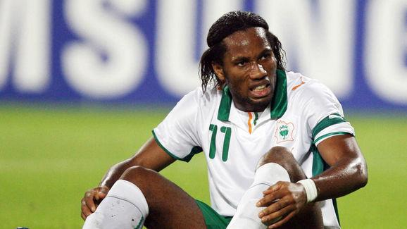 Chelsea and Ivory Coast striker Didier D