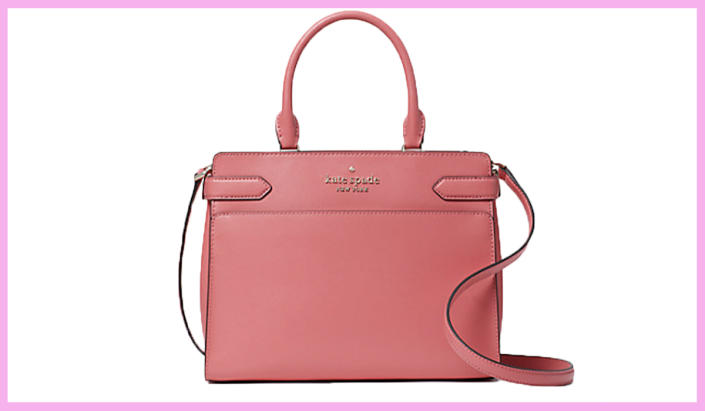 Need a bit more structure in your life while staying stylish? This satchel's for you. (Photo: Kate Spade)