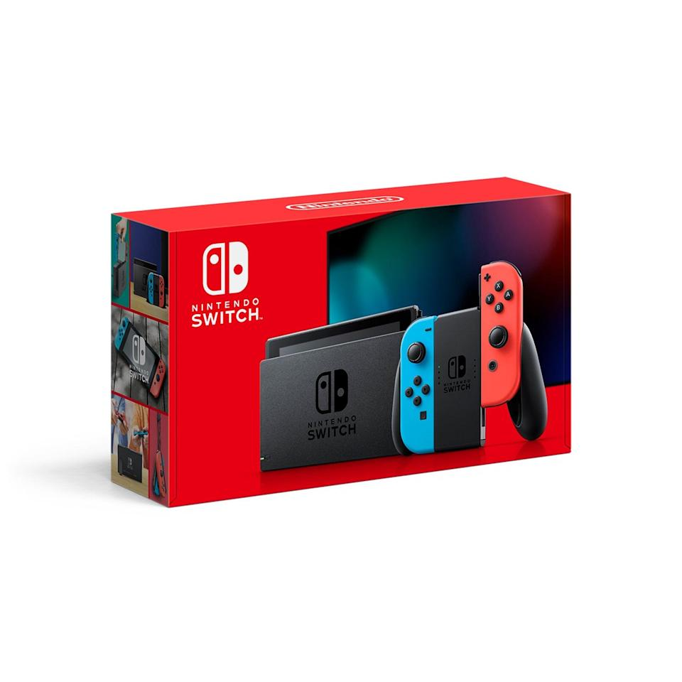 <p>This <span>Nintendo Switch Console</span> ($299) is a fun gaming console they'll be obsessed with.</p>