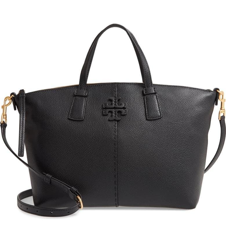 <p><span>Tory Burch McGraw Leather Satchel</span> ($279, originally $398)</p>