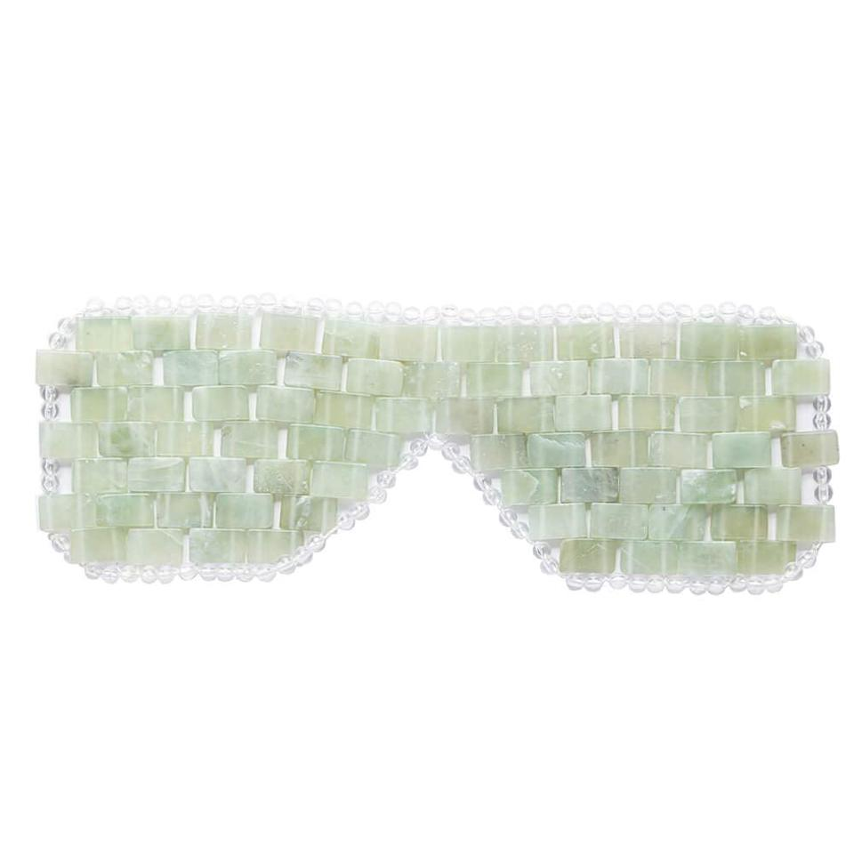 <p>The <span>Jade Eye Mask For Hot and Cold Anti Aging Therapy </span> ($20) will make you feel like you are in a self-care oasis. It's perfect for depuffing your eyes and relaxing. </p>