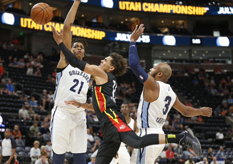 Trae Young opens his career with Hawks on a very sour note