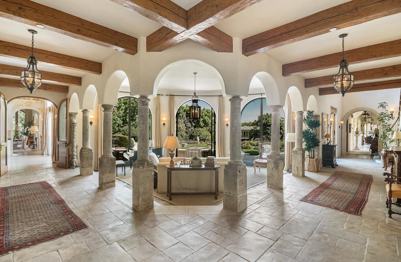 The 16,773-square-foot home was built in 1997 in an Italianesque-style. (Coldwell Banker)
