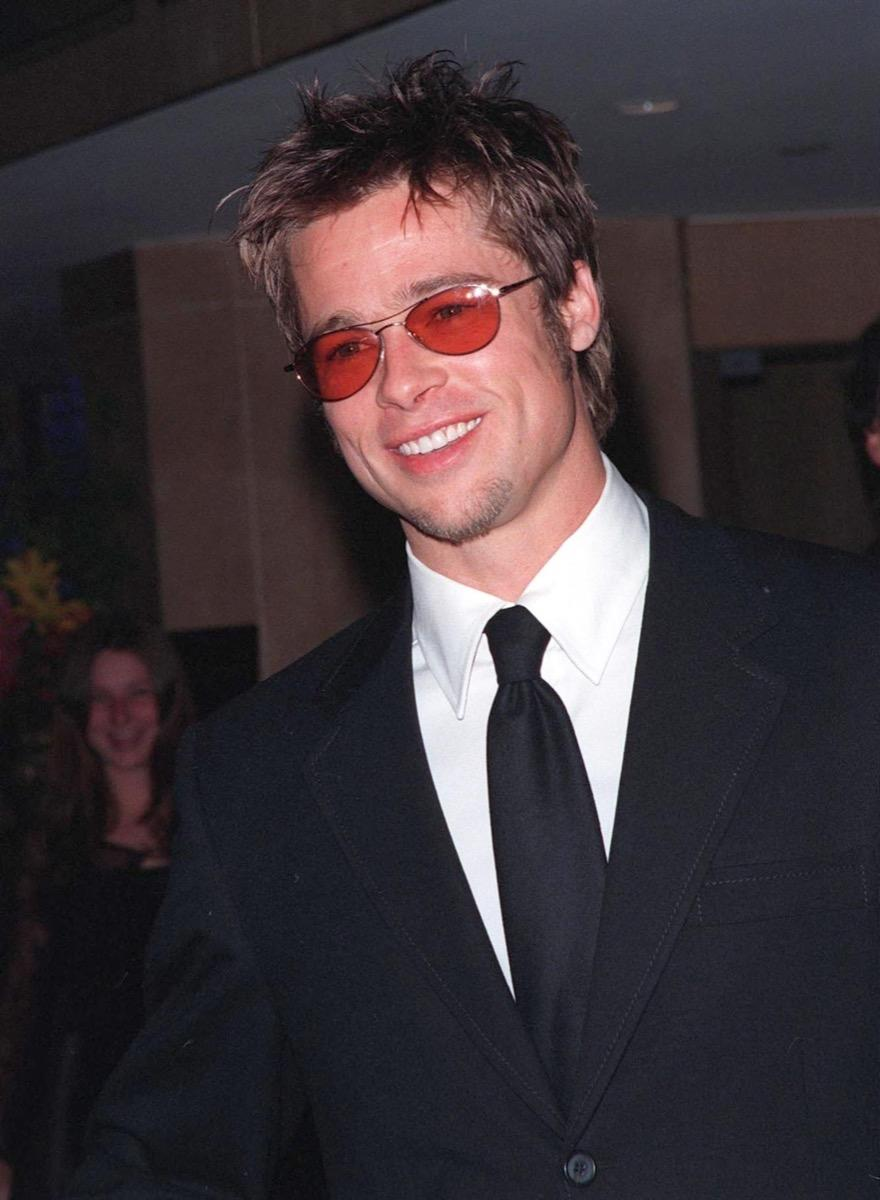 brad pitt in the early 90s, male icon