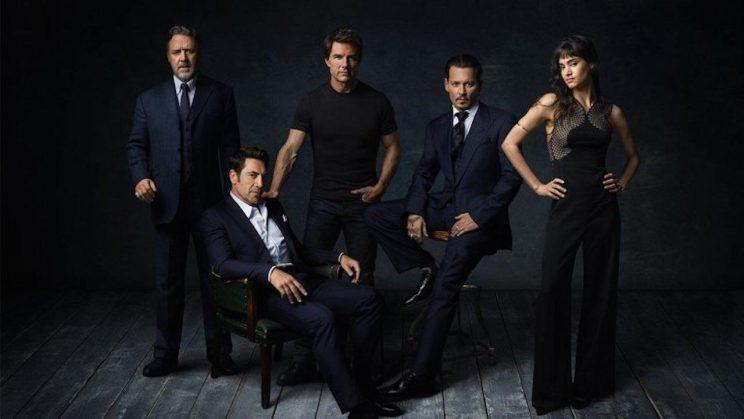 Dark... Universal's new stars are introduced for their new monster movie franchise - Credit: Universal