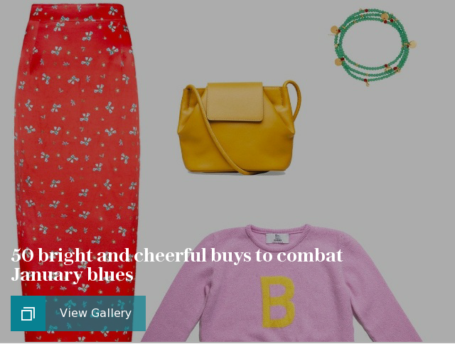 50 bright and cheerful buys to combat January blues