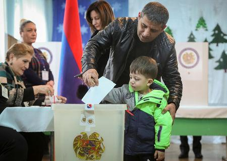2nd LD: Armenia's My Step Alliance led by caretaker PM wins election