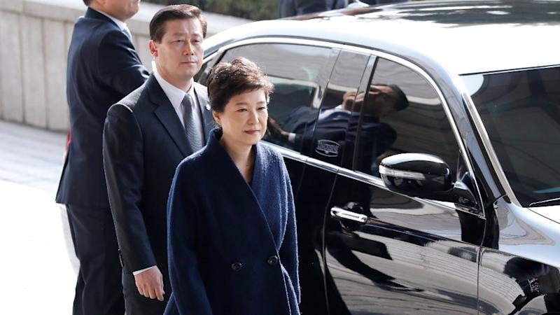 Ousted South Korean President Park Geun-hye Indicted for Bribery