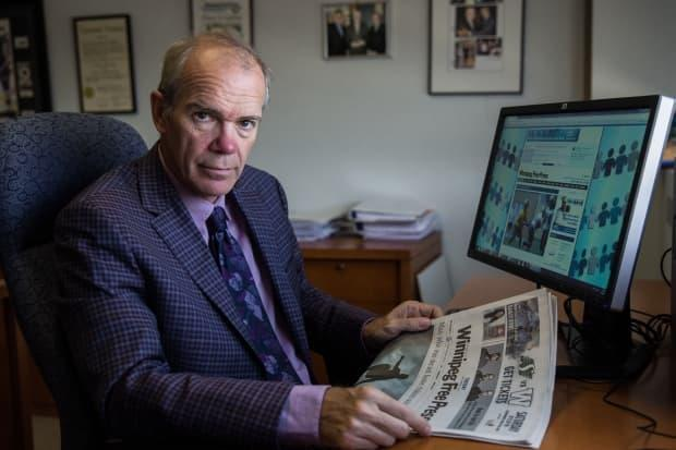 'Unless governments act, these companies typically don't do anything,' said Bob Cox, who is also chair of News Media Canada.