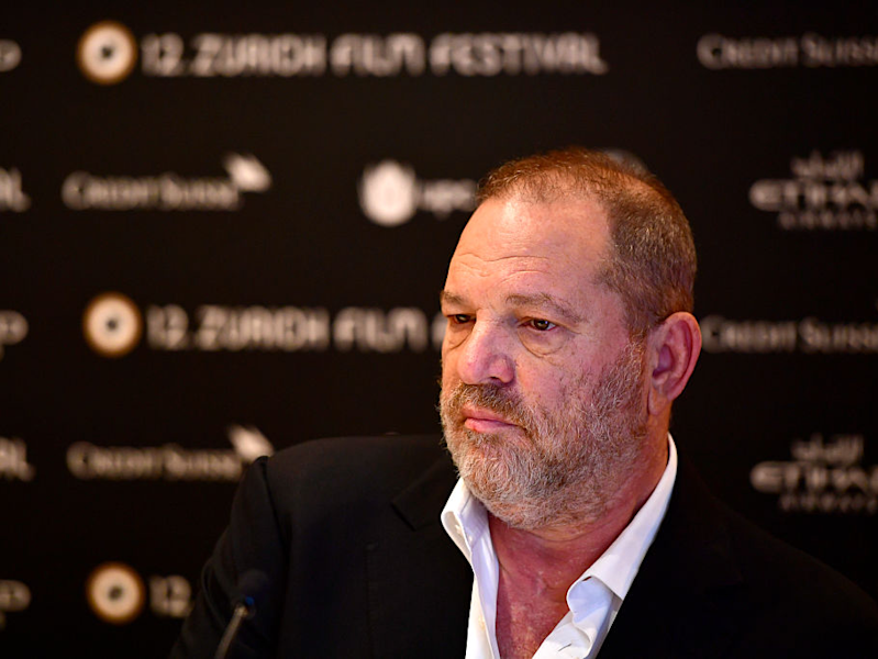 Harvey Weinstein in Switzerland.