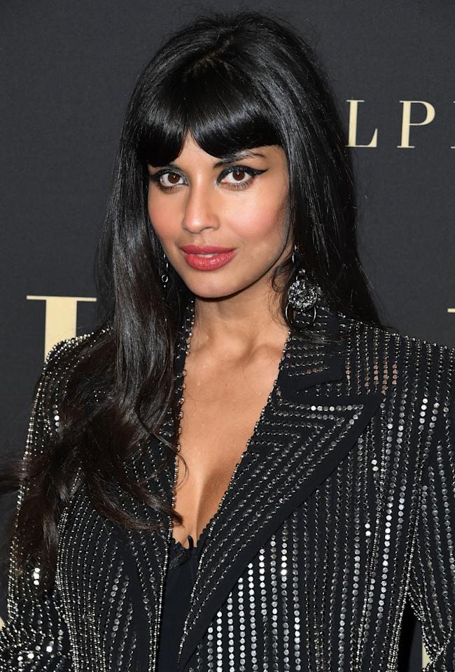"""<p>You can see Jameela Jamil (also known as the fabulous Tahani Al-Jamil) next on TBS, where she's hosting <strong><a href=""""http://www.tvinsider.com/821488/the-misery-index-impractical-jokers-jameela-jamil-tbs-nycc-2019/"""" target=""""_blank"""" class=""""ga-track"""" data-ga-category=""""Related"""" data-ga-label=""""http://www.tvinsider.com/821488/the-misery-index-impractical-jokers-jameela-jamil-tbs-nycc-2019/"""" data-ga-action=""""In-Line Links"""">The Misery Index</a></strong>, a series based on the card game """"Sh*t Happens."""" On the series, two competing teams will rank humiliating life events on a scale from one to 100, with non-celebrity contestants working alongside members of The Tenderloins comedy troupe. The series is set to premiere on Oct. 22. </p> <p>Jamil will also lend her voice to the forthcoming Disney Junior animated mystery series for preschoolers called <strong><a href=""""http://ew.com/tv/2018/11/29/disney-junior-mira-royal-detective-all-indian-cast/"""" target=""""_blank"""" class=""""ga-track"""" data-ga-category=""""Related"""" data-ga-label=""""http://ew.com/tv/2018/11/29/disney-junior-mira-royal-detective-all-indian-cast/"""" data-ga-action=""""In-Line Links"""">Mira, Royal Detective</a></strong>, where she will play the recurring character of Auntie Pushpa. You can expect the series to premiere sometime in 2020. </p>"""