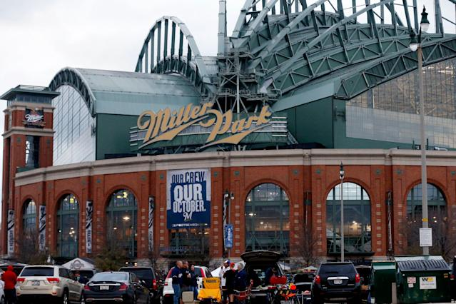 Brewers draft pick Brock Begue has developed into a pitching prospect despite dealing with severe effects from strokes suffered at birth. (Getty Images)