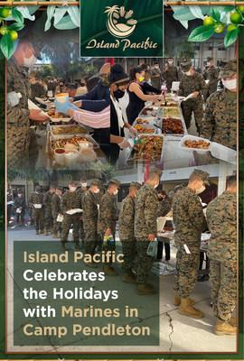 Island Pacific Supermarket participated in the National Diversity Coalition's Financial Literacy Event by providing free traditional Filipino meals to our Marine Corps stationed in Camp Pendleton. Traditional Filipino meals such as Pansit, Chopsuey, Adobo, Lumpia, Liempo (BBQ Pork Belly), and Beef Caldereta were served to our Marines to promote Filipino food and culture and to honor our heroes.