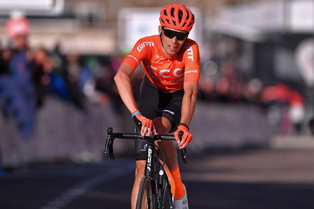 CCC Team's Attila Valter at the 2020 Tour de la Provence