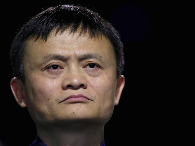 Alibaba's Jack Ma courts USA firms