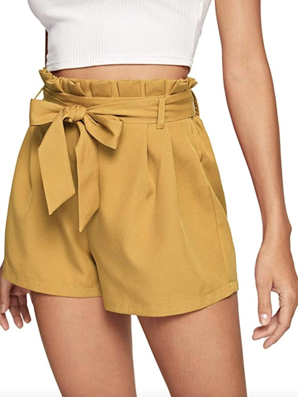 <p>These <span>SweatyRocks Elastic Shorts</span> ($16 - $20) will provide ample support around the waist, for maximum comfort. </p>