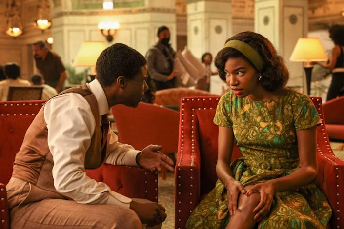 """TL Thompson as Andre and Jaye Ladymore as Claudette in """"4400"""" on The CW."""