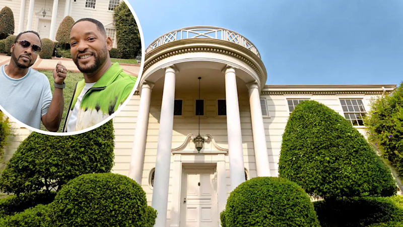 The Fresh Prince of Bel Air mansion is now available for rent. (Source: Airbnb, Instagram/willsmith)