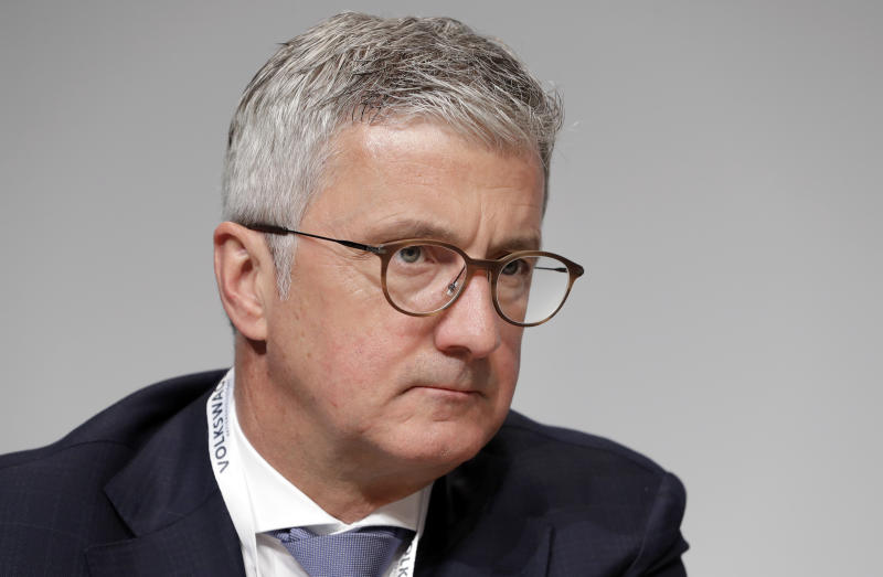 Audi Chief Executive Rupert Stadler detained