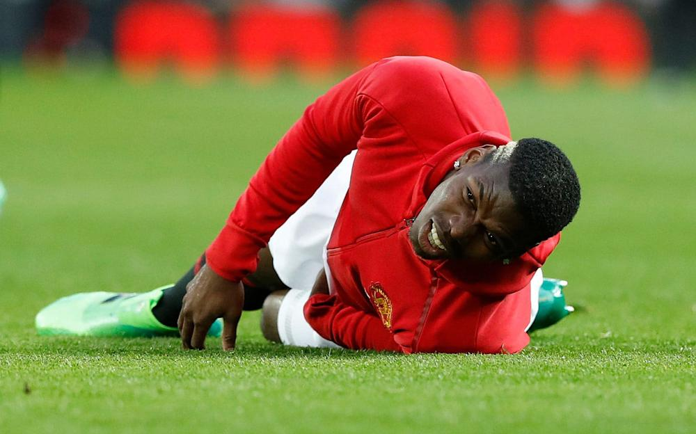 beached pogba - Credit: PA