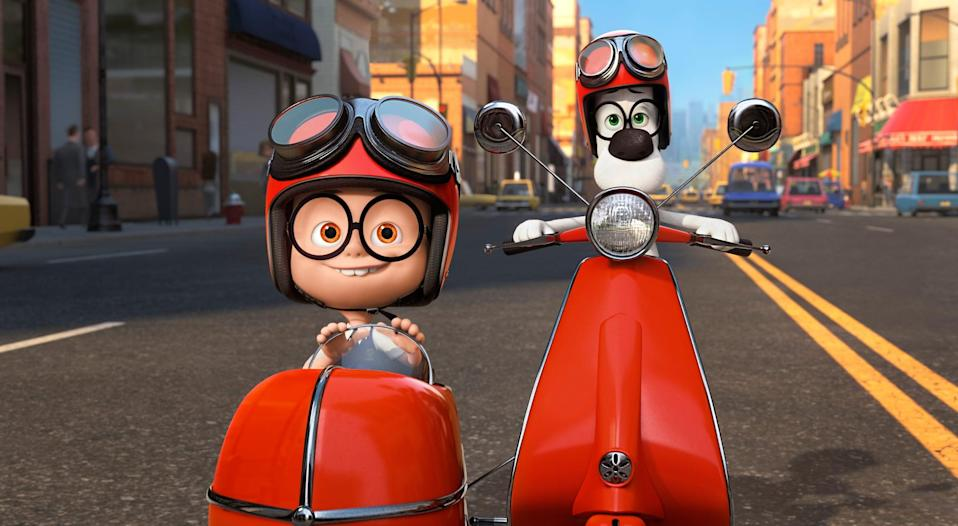 <p>This silly animated movie is now streaming.</p>