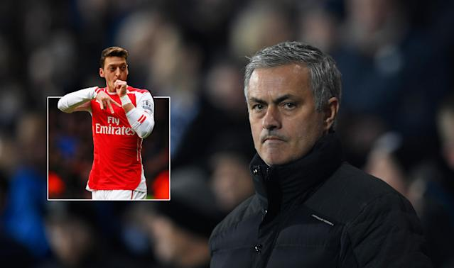 Jose Mourinho has worked with Mesut Ozil before and they could be reunited in Manchester