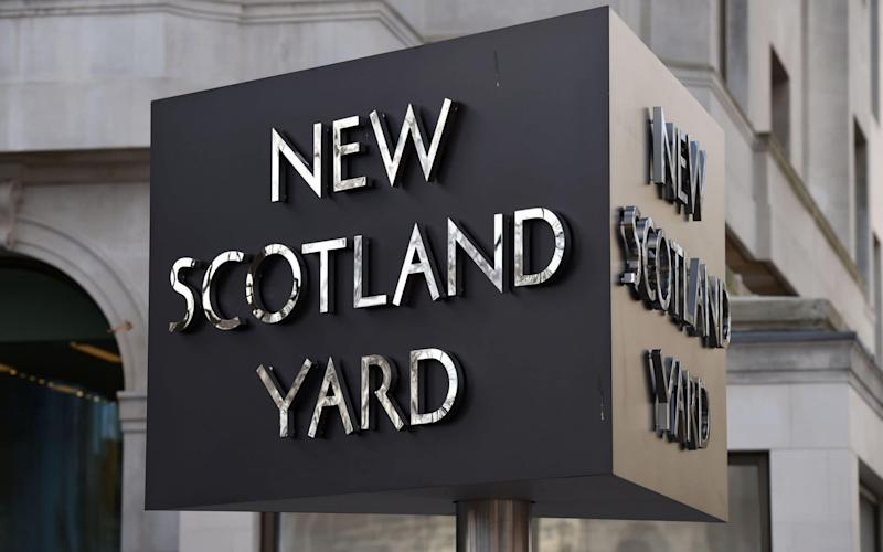 Scotland Yard said the arrest relates to that of an 18-year-old in north London on Friday - PA