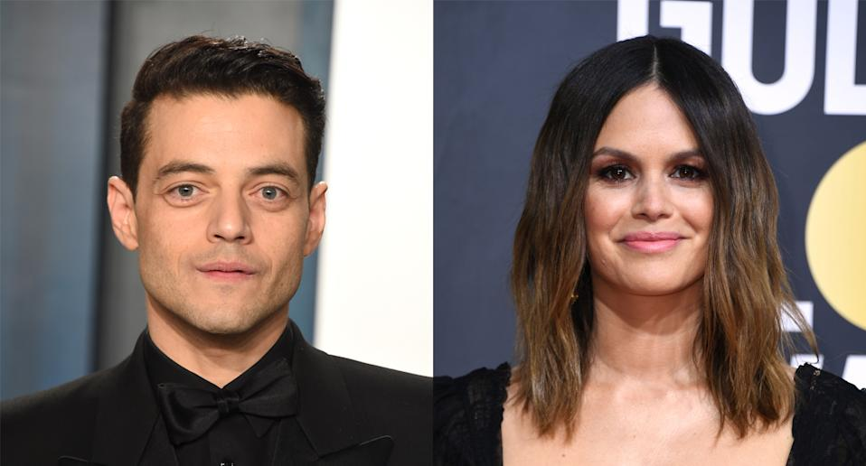 Rachel Bilson and Rami Malek attended the same high school. (Photo by John Shearer/Getty Images. Valerie Macon/AFP via Getty Images)