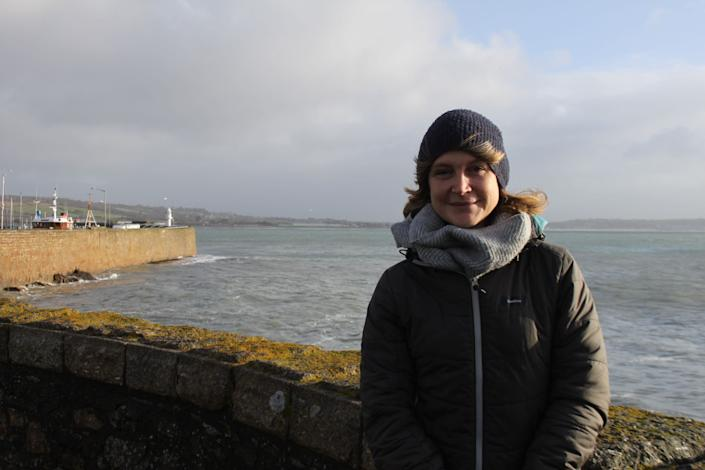 """Rachel Yates spearheaded the campaign to get Penzance """"plastic free"""" accreditation. (Photo: Anna Turns)"""
