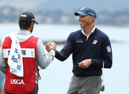 After contentious start to year, Matt Kuchar in contention at US Open