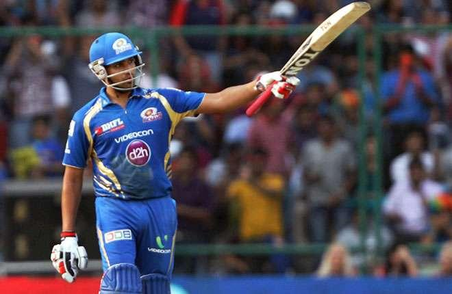 Rohit Sharma finally found some form. Three boundaries in an over from Moises Henriques allowed Rohit Sharma to get the run rate up. Sharma, in the able company of Hardik Pandya, put on a 60-run stand but Rashid Khan got the latter caught while top edging a slog. Sharma, however, went on to score a 45-ball 67, hitting six fours and 2 sixes. What was special about the skipper's knock was that no other batsman looked comfortable batting on a two-paced wicket. With this knock, Rohit got to his third IPL 50 of this season. Rohit's confidence and hard-hitting on a track that didn't seem the easiest to score on do not fade away.