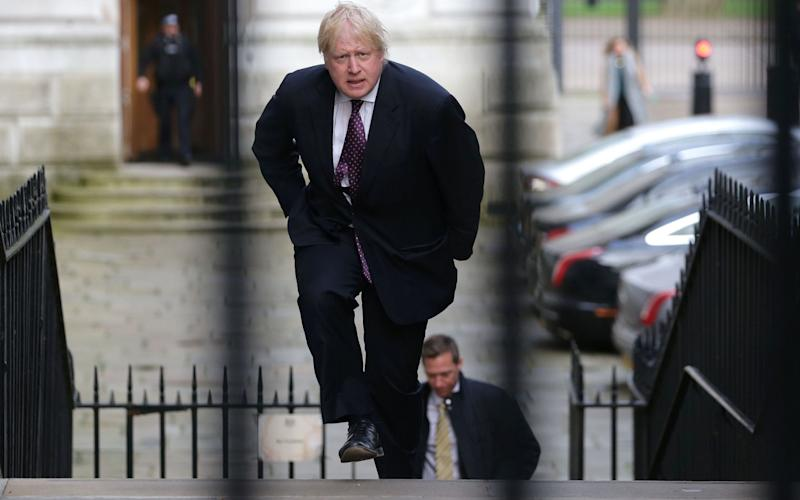 Foreign Secretary Boris Johnson  - Credit: Getty